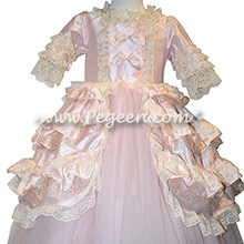 Special Marie Antoinette Silk flower girl dresses used for the Nutcracker