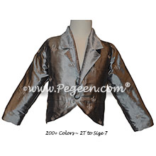 Custom Silk Embroidered Jacket