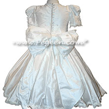 Aloncon Lace Trimmed First Communion dress