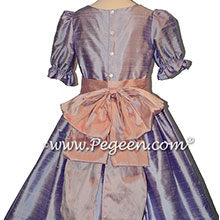 Nutcracker Party Scene Dress in Lilac and Rose Pink Style 701