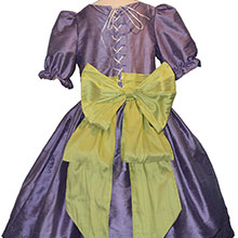 Nutcracker Party Scene Dress in Periwinkle and Green Style 701