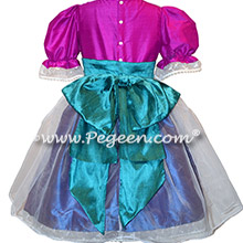 Purple and Pink Nutcracker Ballet Party Scene Dresses