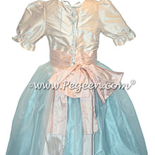 Spa Blue and Pink Nutcracker Party Scene Dress Style 703