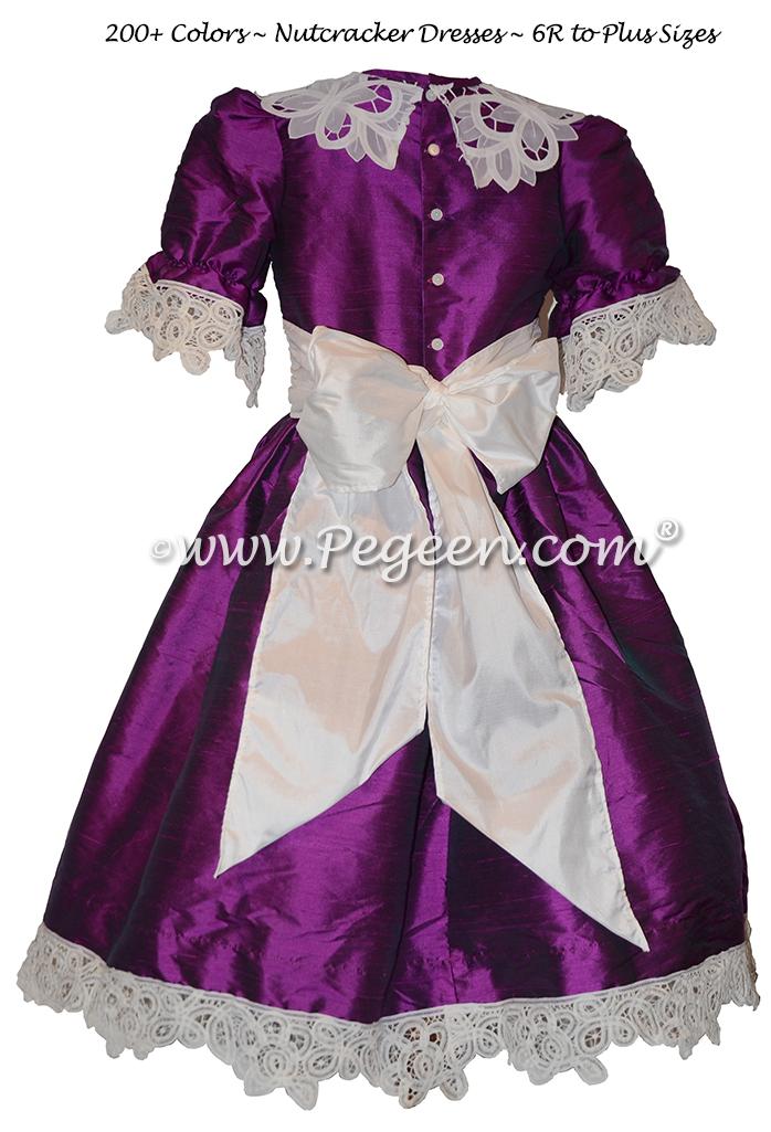 Boysenberry Nutcracker Party Scene Dresses Style 708 by Pegeen