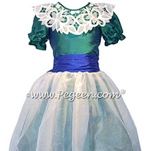 Holiday Green and Sapphire Nutcracker Costume Style 718 | Pegeen