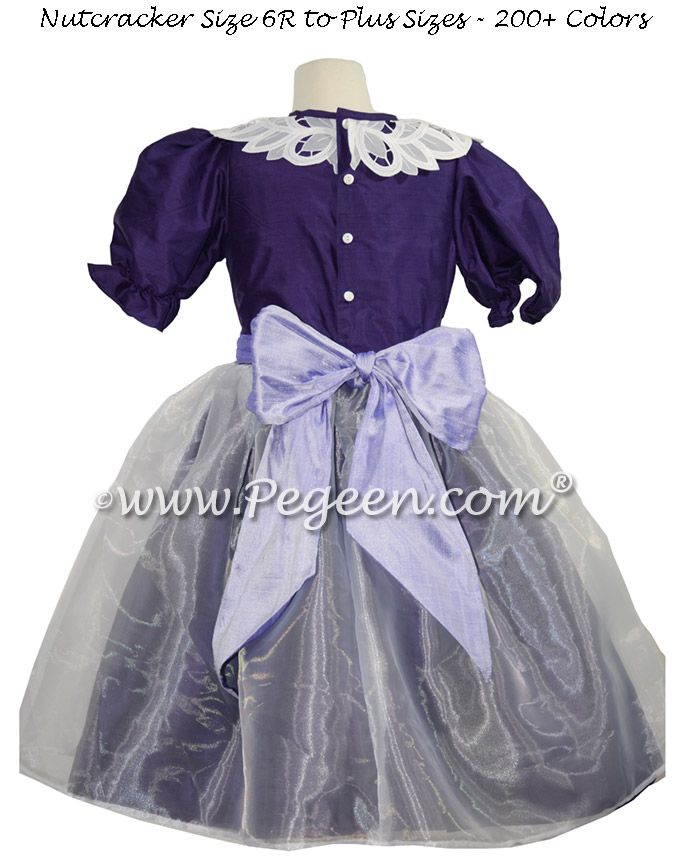 Custom Royal Purple and Lilac Nutcracker Dresses Style 718