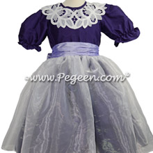 Purple and Lilac Nutcracker Party Scene Dress