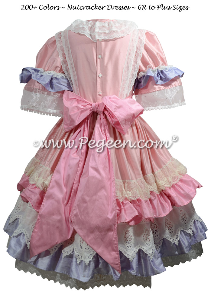 Lilac and Pink Nutcracker Ballet Party Scene Dresses - Style 723
