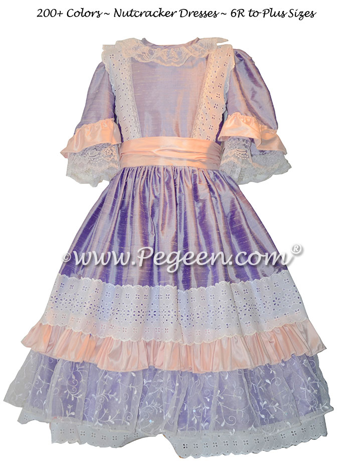 Pink and Lilac Nutcracker or Clara Dresses