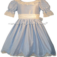Baby Blue and Creme Nutcracker Dresses Style 724