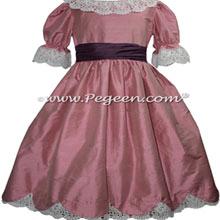 Lollipop and Plum Nutcracker Dresses