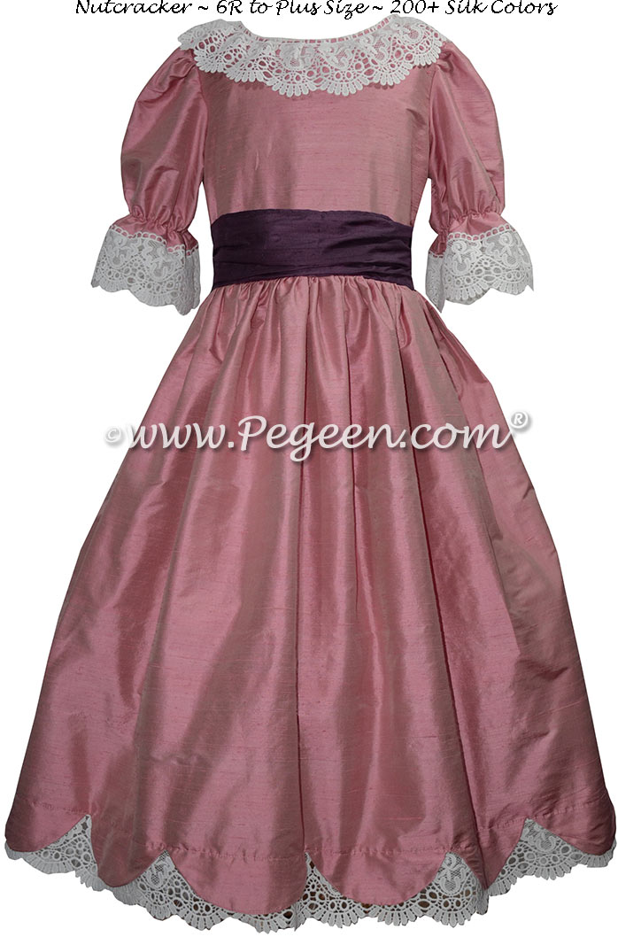 Lollipop and Plum Nutcracker Dresses Style 724
