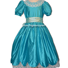 Matisse and Spa Blue Silk Nutcracker Dress for Clara and the Party Scene Style 724
