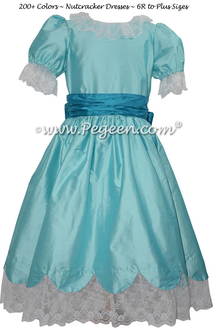 Tiffany Blue and Ocean Blue Nutcracker Dress Style 724