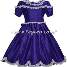 Royal Blue Silk and Lace Nutcracker Dresses