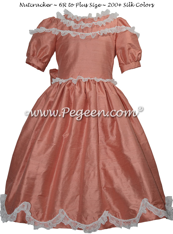 Sunset and Lace Nutcracker Dress Style 725