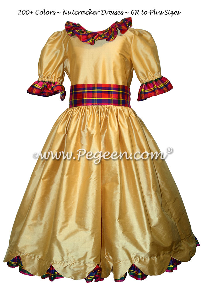 Nutcracker in Red and Gold Nutcracker Dress Style 726 | Pegeen