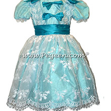 Aqua Clara Nutcracker Ballet Party Scene Dresses
