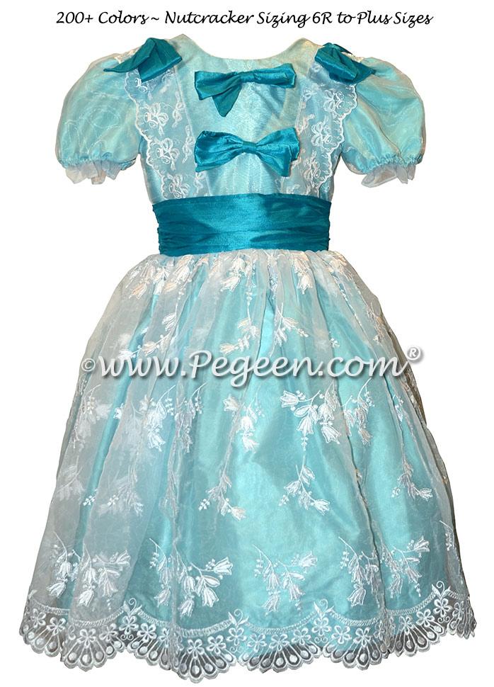 Aqua Clara Nutcracker Ballet Party Scene Dresses - Style 727