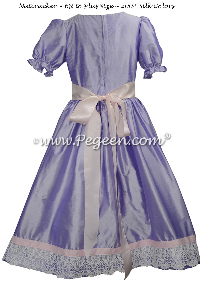 Lilac and Pink Nutcracker Dresses Style 728