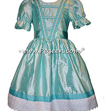 Turquoise Clara Nutcracker Ballet Party Scene Dresses