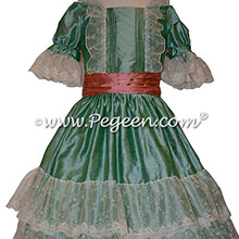 Clara Green Nutcracker Dresses