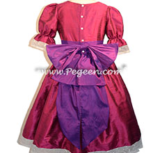 Nutcracker Party Scene Dress in Raspberry and Boisenberry Style 745