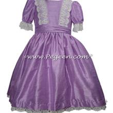 Amethyst Silk and Lace Nutcracker Dress for Nutcracker on Ice