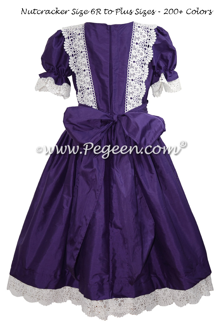 Royal Purple Nutcracker Costume & Party Scene Dress