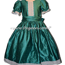 Nutcracker Party Scene Dress in Juniper Green Style 751