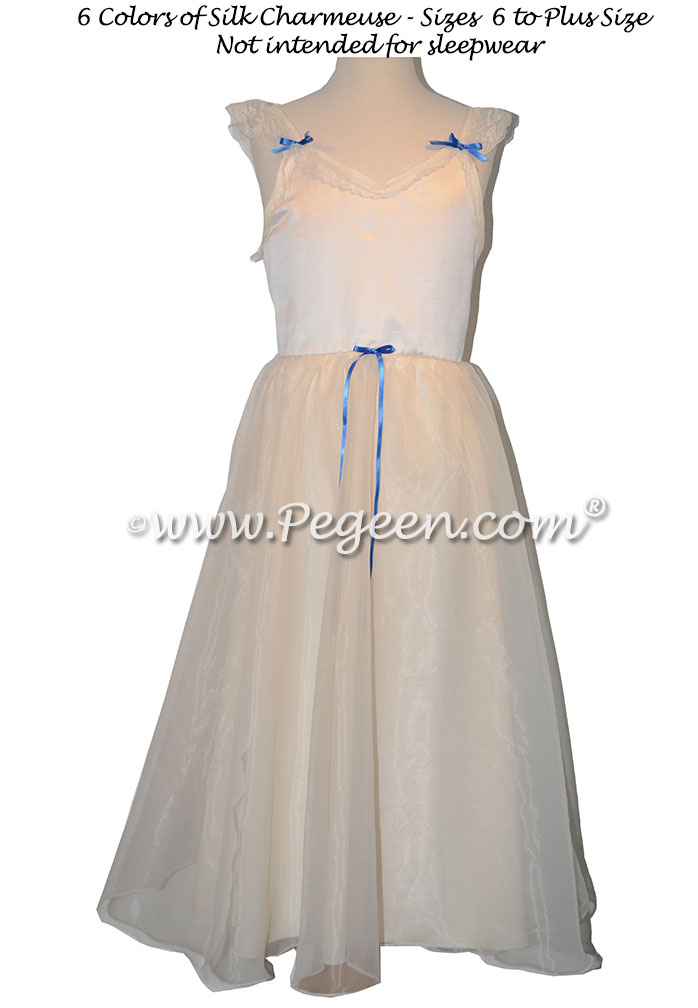 Clara's Nightgown for the Nutcracker Ivory Silk Style 768