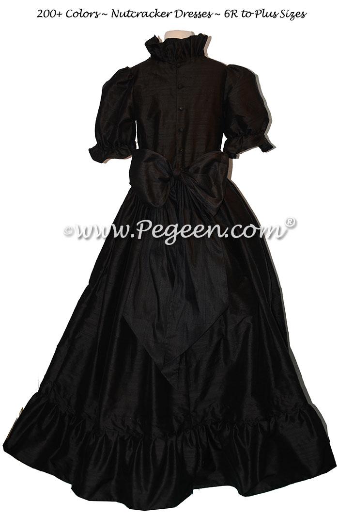 Women's Black Nutcracker Dress for Party Scene Style 799