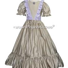 Women's Platinum Gray Nutcracker Dress for Party Scene Style 799