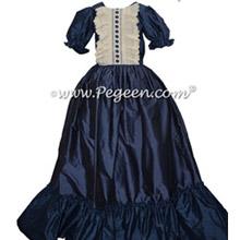 Women's Navy Nutcracker Dress for Party Scene Style 799