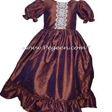 Women's Raisin Nutcracker Dress for Party Scene Style 799
