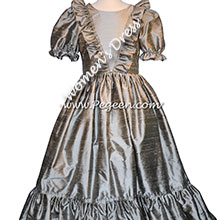 Women's Nutcracker Dress for Party Scene Style 799 in Silver Gray | Pegeen