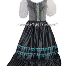 Women's Medium Gray Nutcracker Dress for Party Scene Style 799