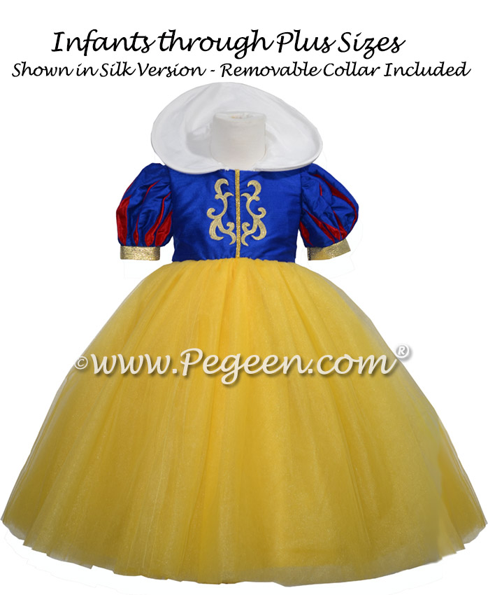 Snow White flower girl dress while visiting Disney World