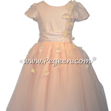 911 Ballet Pink Flower Girl Dress