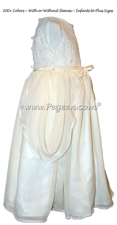 Grecian Styled Flower Girl Dress Style 923