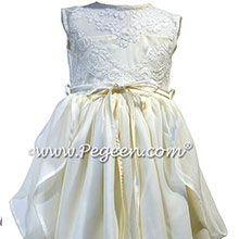 Grecian Styled Flower Girl Dress Style 923 | Pegeen