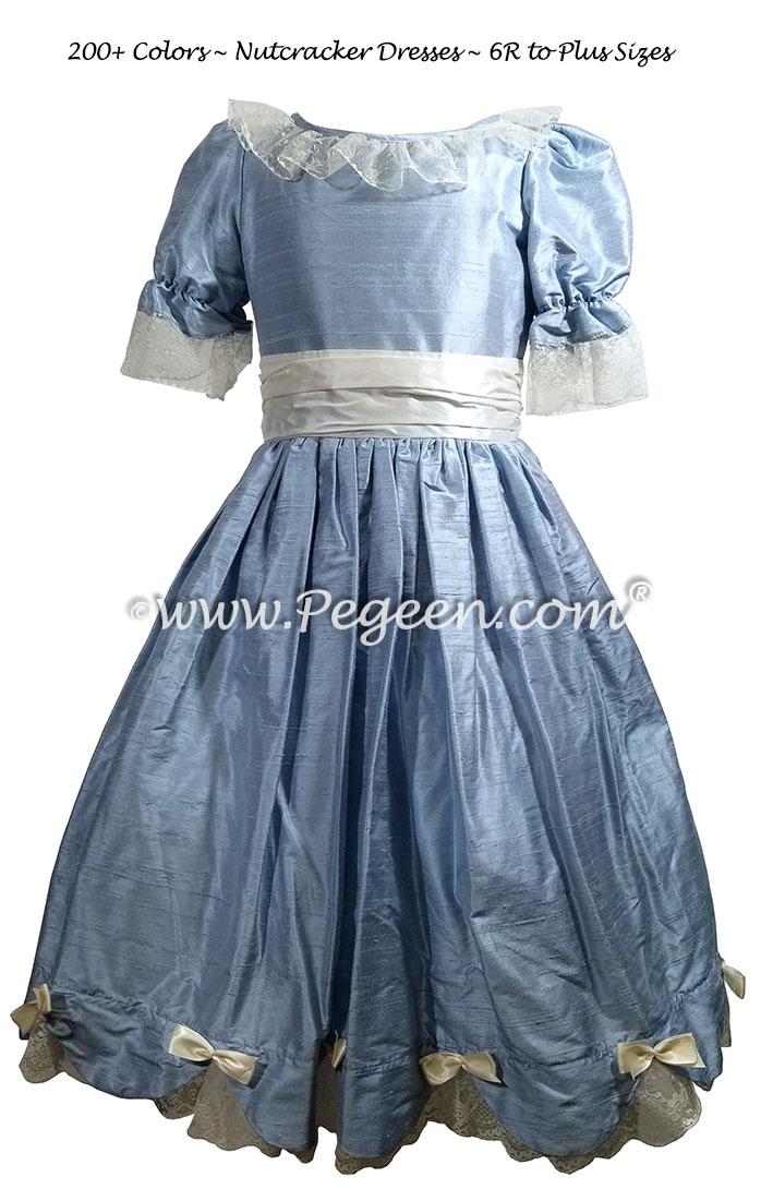 Nutcracker Party Dress - Clara Dress in Cloud Blue Style 725