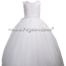 White First Holy Communion Dress