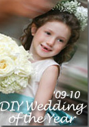 DIY 2010 Flower Girl Dresses of the Year in Tiffany Blue and Ivory