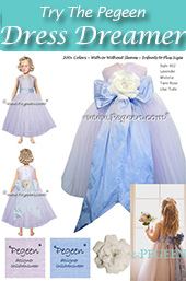 Flower girl dress interactive program