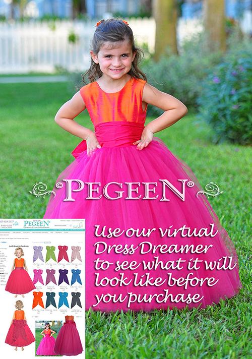 Pegeen Flower Girl Dress Dreamer Virtual Closet