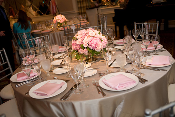 petal pink wedding of the year
