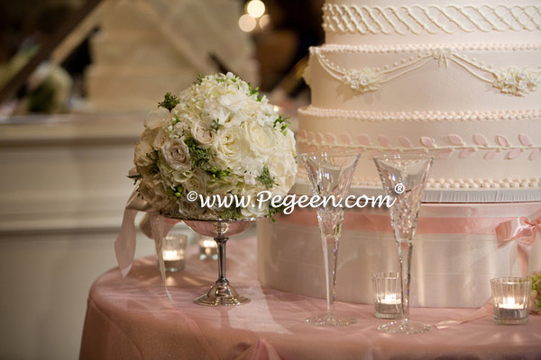 petal pink theme wedding