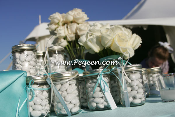 tiffany blue theme wedding