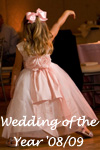 Flower Girl Dresses of the Year in Petal Pink and Ivory